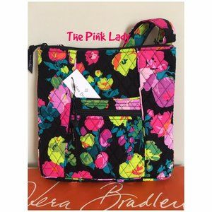 Vera Bradley Hilo Meadow Floral Hipster Crossbody
